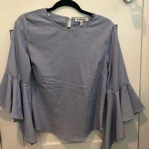Striped blouse!